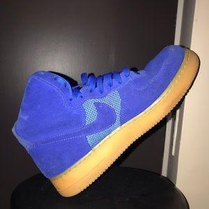 "NIKE Air Force 1 High ""Blue"" '07"